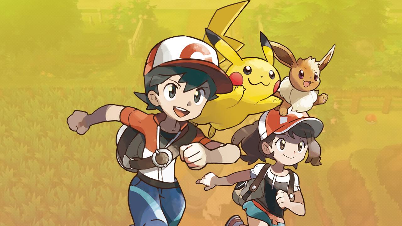 Pokémon Let's Go, Pikachu! e Pokémon Let's Go, Eevee!