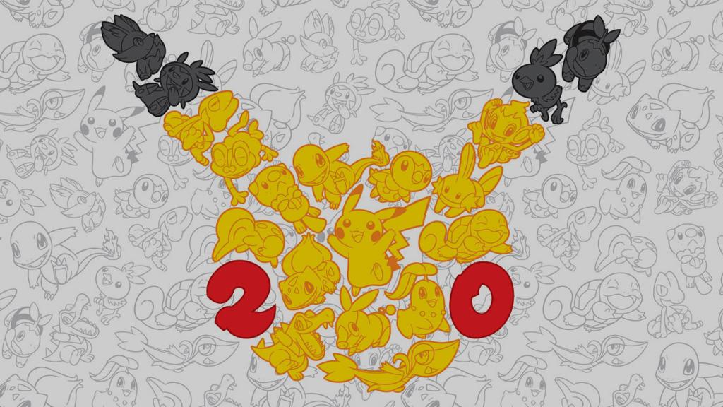 As comemorações dos 20 anos de Pokémon