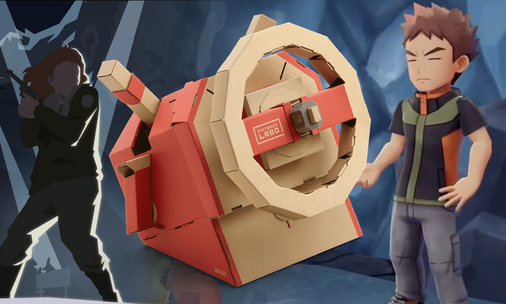 Labo Vehicle Kit, This Is The Police 2 e Quests em Pokémon Let's Go