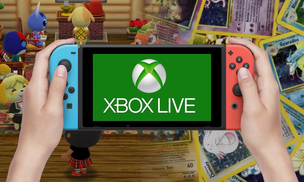 Microsoft Live no Switch, tradução de jogos, e Pokémon TCG Card Dex