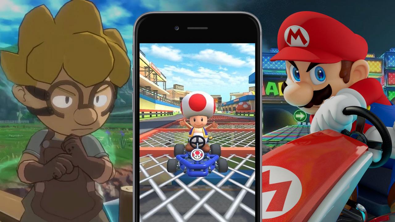 Mario Kart Tour e Gear Project da Game Freak