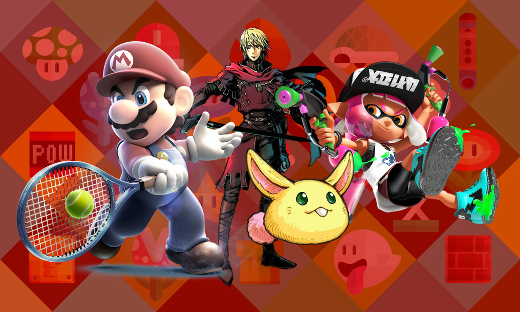 Mario Sports Superstars, Radiant Historia (e JRPGs) e Splatoon 2