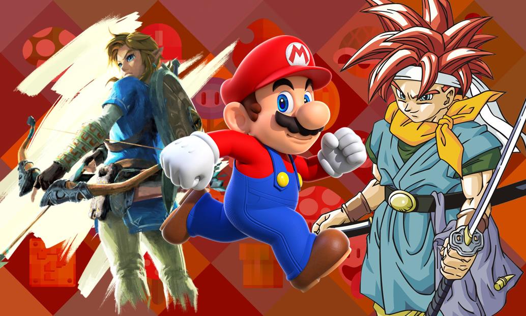 DLCs de Zelda e Fire Emblem, Speed Runs e os 100 melhores RPGs