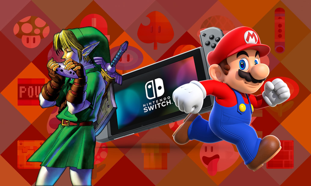 Zelda: Symphony of the Goddesses, Switch hackeado e Super Mario Run no Android