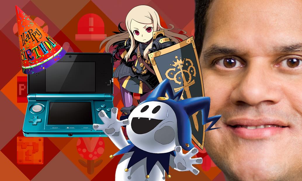 6 anos de 3DS, novidades da Atlus e Reggie pagando de louco pra E3