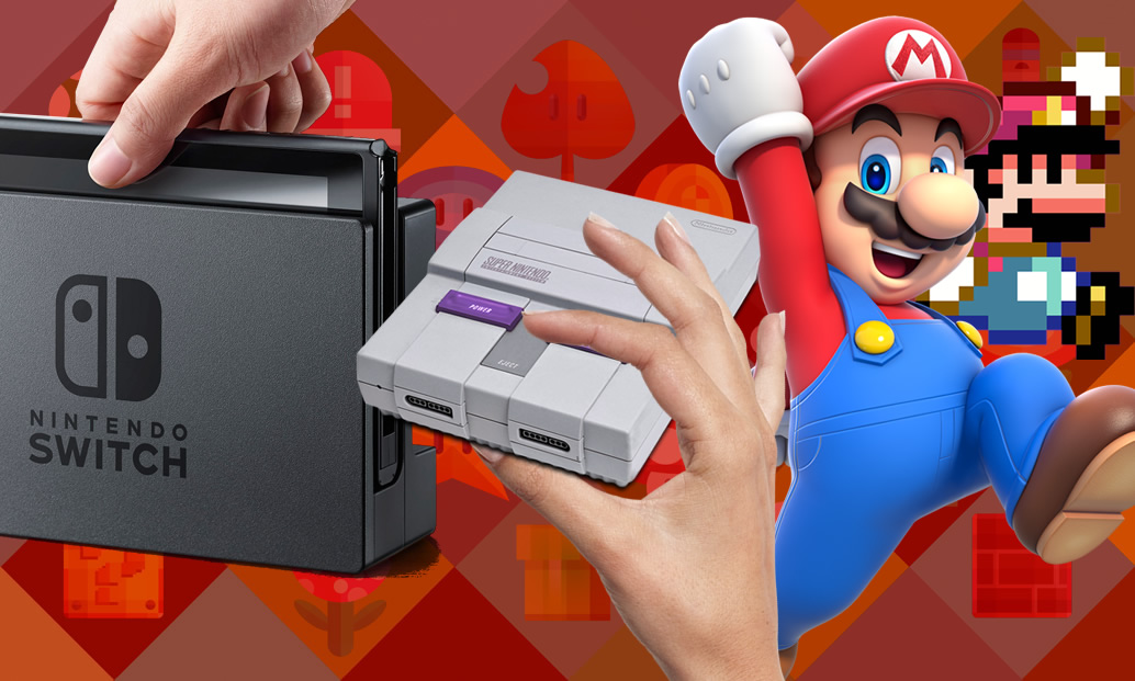 Vendas do Switch, SNES Mini e Mario 2D vs. 3D