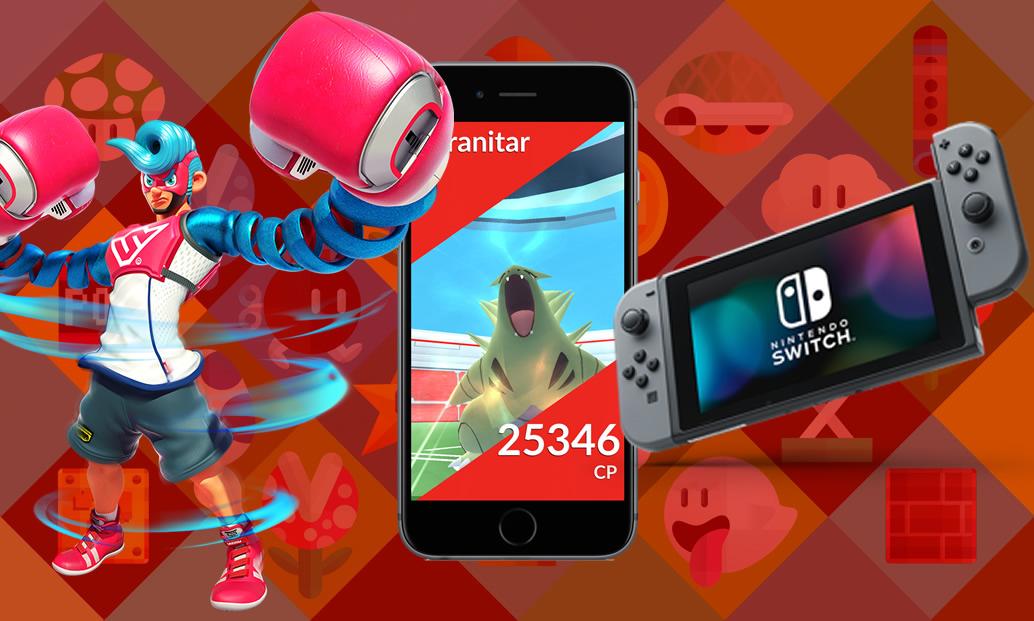 O lançamento de ARMS, novidades em Pokémon GO e restrição de memória da Nintendo
