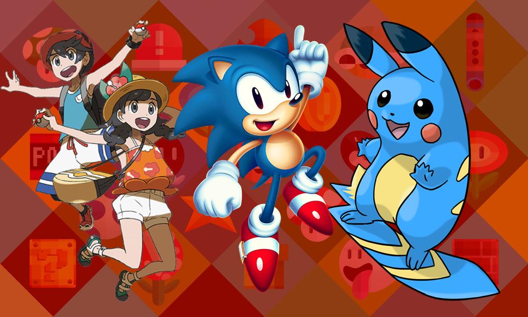Ultra Sun e Ultra Moon, Sonic Mania, e criando um Pokémon do zero