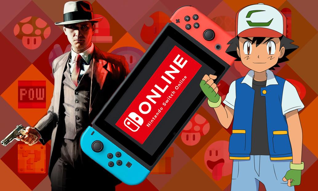 """L.A Noire, Nintendo Switch App Online e """"Pokémon: Eu Escolho Você"""" no Brasil"""