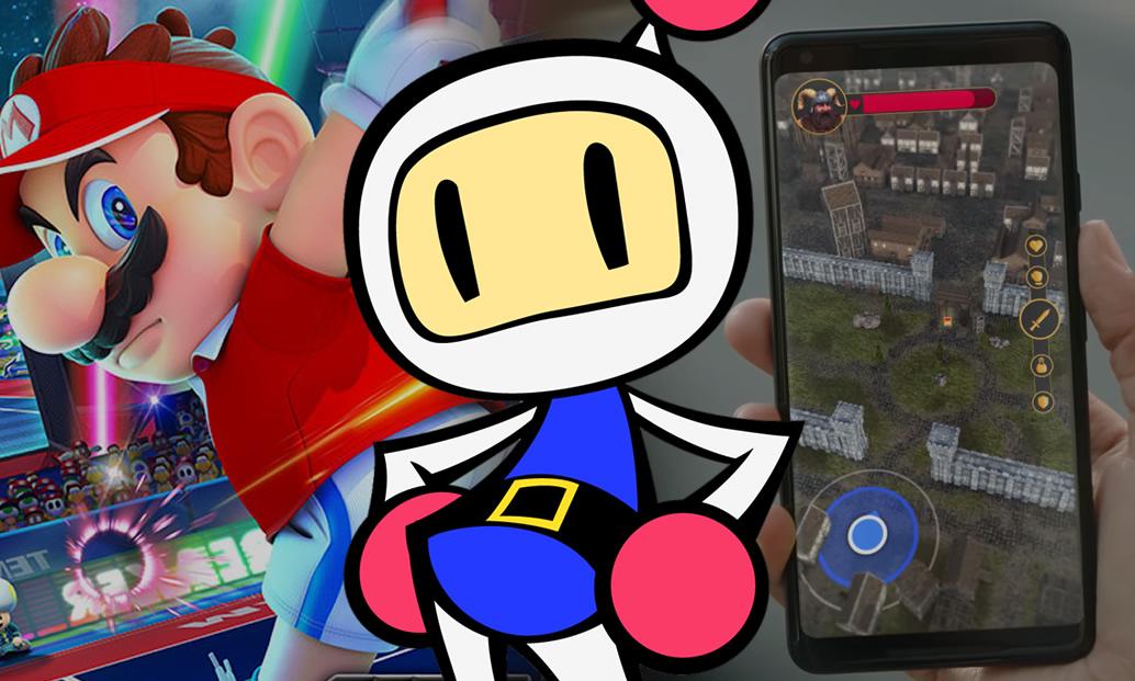 Ressaca do Direct, Super Bomberman R e criando jogos estilo Pokémon GO