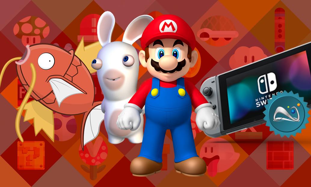 Magikarp Jump, Mario + Rabbids e jogos da Nintendo oficialmente no Brasil