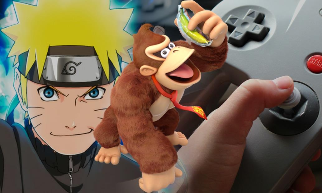 Donkey Kong Country: Tropical Freeze, jogos de Naruto e inovações da Nintendo