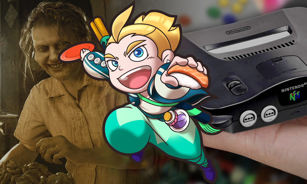 Sushi Striker, Resident Evil 7, e Rumores do N64 Classic