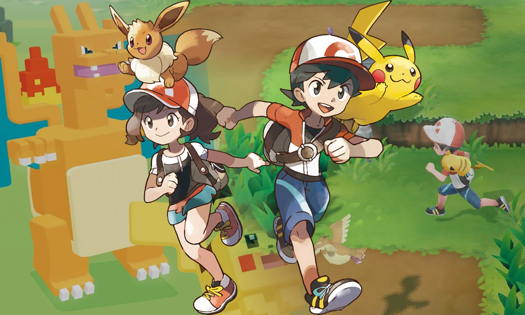 Especial: Anúncios de Pokémon Quest e Pokémon Let's Go