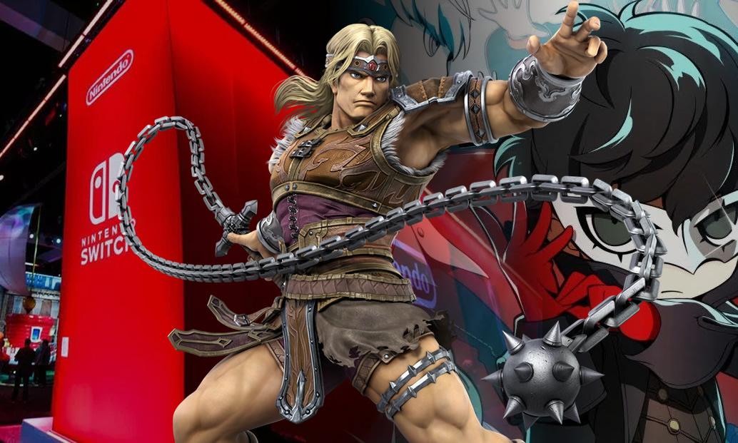 Direct de Smash Bros. Ultimate, Persona Q2 e Jefferson no estande da Nintendo