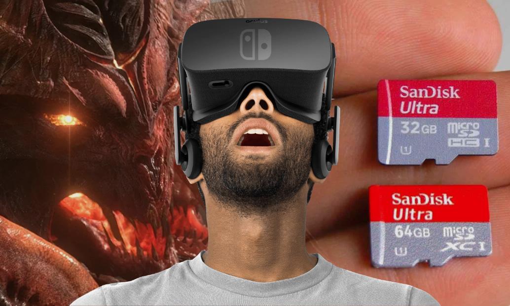 Diablo 3, VR no Switch e capacidade de armazenamento