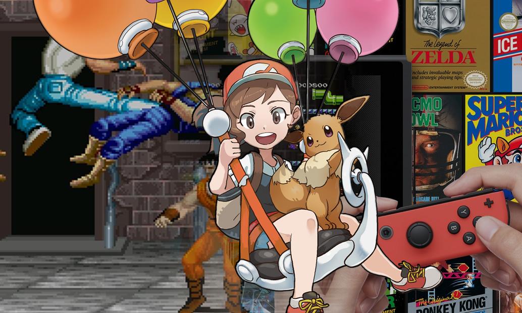 Nintendo Switch Online, Pokémon Let's GO e Capcom Beat'em Up Bundle
