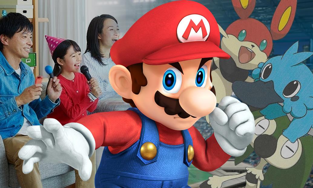 Karaoke no Switch, rumor de Smash Bros., e criando iniciais de Pokémon